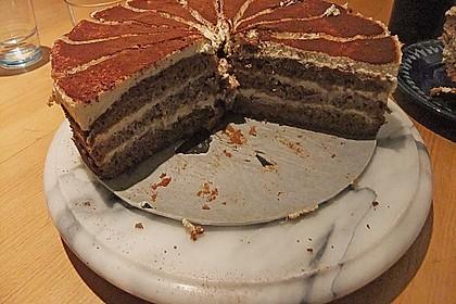 Schnelle Tiramisu - Torte mit Kirschen 19