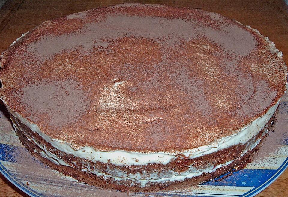schnelle tiramisu - torte mit kirschen (rezept mit bild) | chefkoch.de - Chefkoch Schnelle Küche
