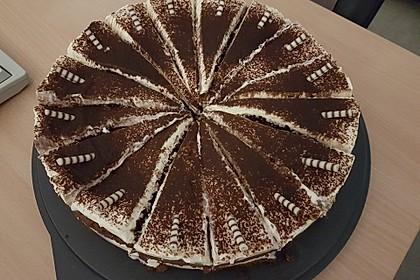Schnelle Tiramisu - Torte mit Kirschen 13