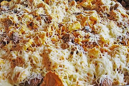 Tortellini mit leckerer Tomaten - Sahne - Sauce überbacken 4