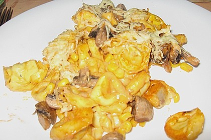 Tortellini mit leckerer Tomaten - Sahne - Sauce überbacken 2