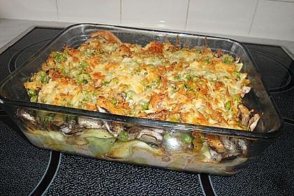 Tortellini mit leckerer Tomaten - Sahne - Sauce überbacken
