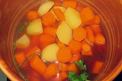 Sommerliche Gemüsesuppe 1