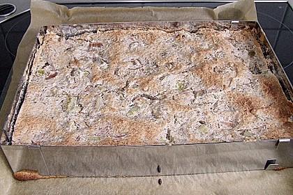 Rhabarberkuchen mit Nussbaiser 29