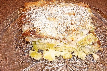Rhabarberkuchen mit Nussbaiser 28
