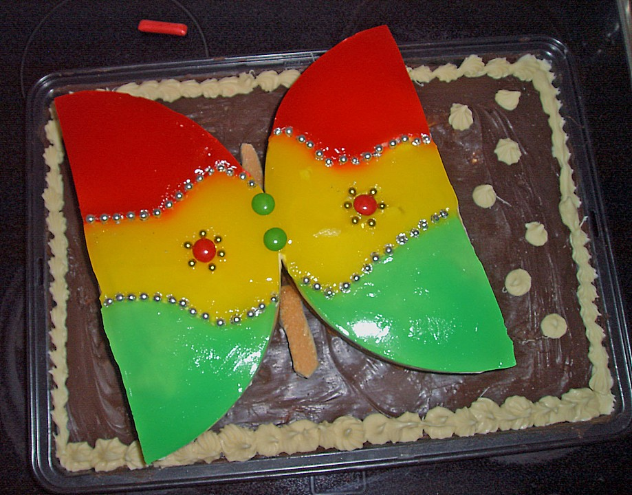 Philadelphia Donauwelle Butterfly Torte Von Cindylue Chefkoch De