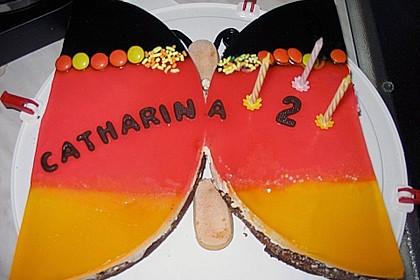 Philadelphia - Donauwelle - Butterfly - Torte 14