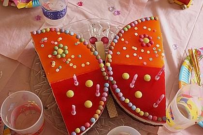Philadelphia - Donauwelle - Butterfly - Torte 2