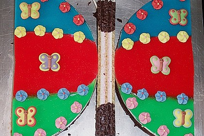 Philadelphia - Donauwelle - Butterfly - Torte 6