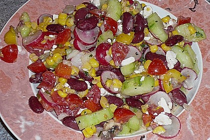 Bunter Salat 35