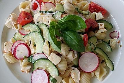 Pasta - Salat mit Mozzarella 0