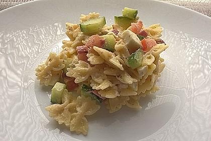 Pasta - Salat mit Mozzarella 1