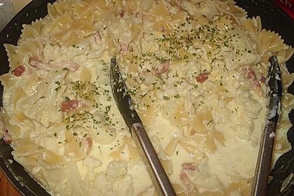 Blumenkohl - Pasta 4