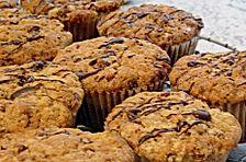 Crunchy Vanilla Ice Cream Muffins