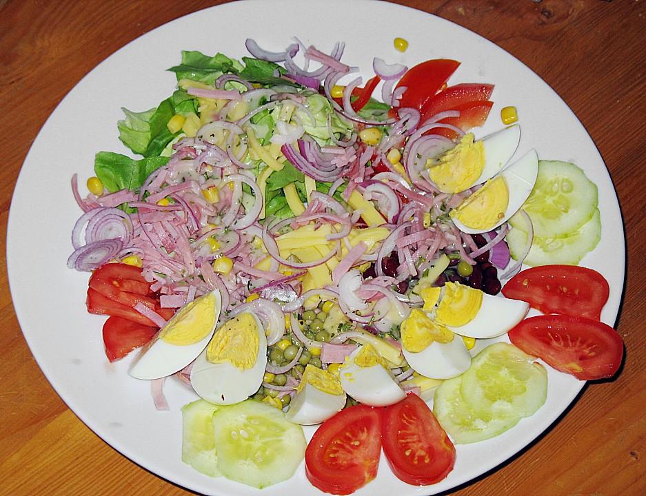 Verschiedene salate italienisch