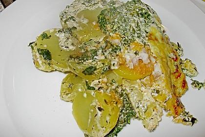 Spinat-Fischstäbchen Auflauf 25