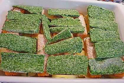 Spinat-Fischstäbchen Auflauf 30
