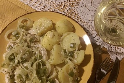 Gebratenes Zanderfilet auf Fenchel - Paprika - Gemüse 10