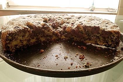 kirschli kuchen mit schokolade von stetim. Black Bedroom Furniture Sets. Home Design Ideas