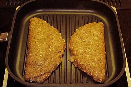 Beefsteaks mit Schafskäse 44