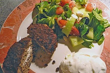 Beefsteaks mit Schafskäse 11