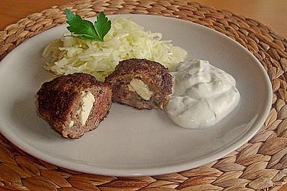 Beefsteaks mit Schafskäse 6
