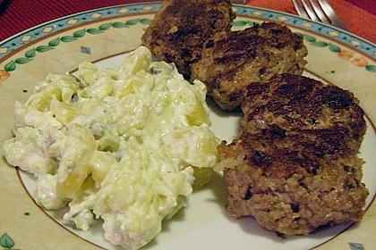 Beefsteaks mit Schafskäse 54