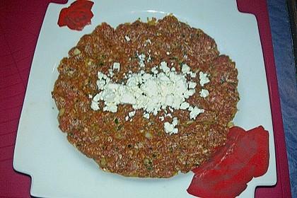Beefsteaks mit Schafskäse 56