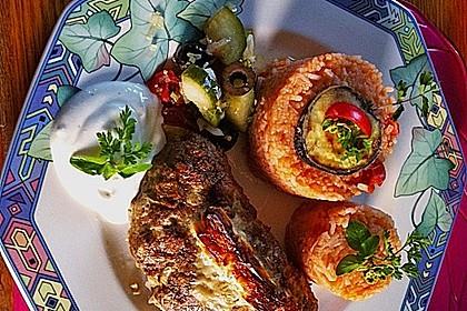 Beefsteaks mit Schafskäse 8