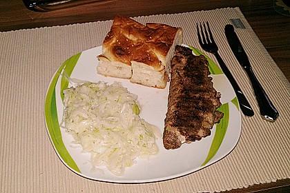 Beefsteaks mit Schafskäse 40