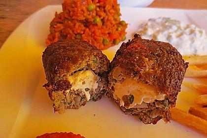 Beefsteaks mit Schafskäse 17