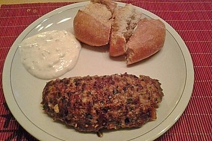 Beefsteaks mit Schafskäse 45