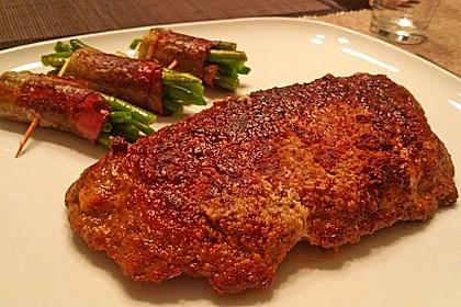Beefsteaks mit Schafskäse 7