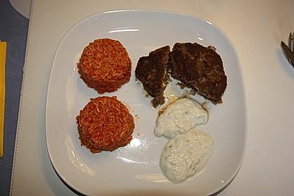 Beefsteaks mit Schafskäse 30