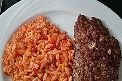 Beefsteaks mit Schafskäse 25