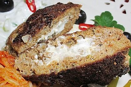 Beefsteaks mit Schafskäse 28