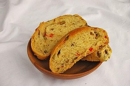 Knoblauch - Olivenbrot 1