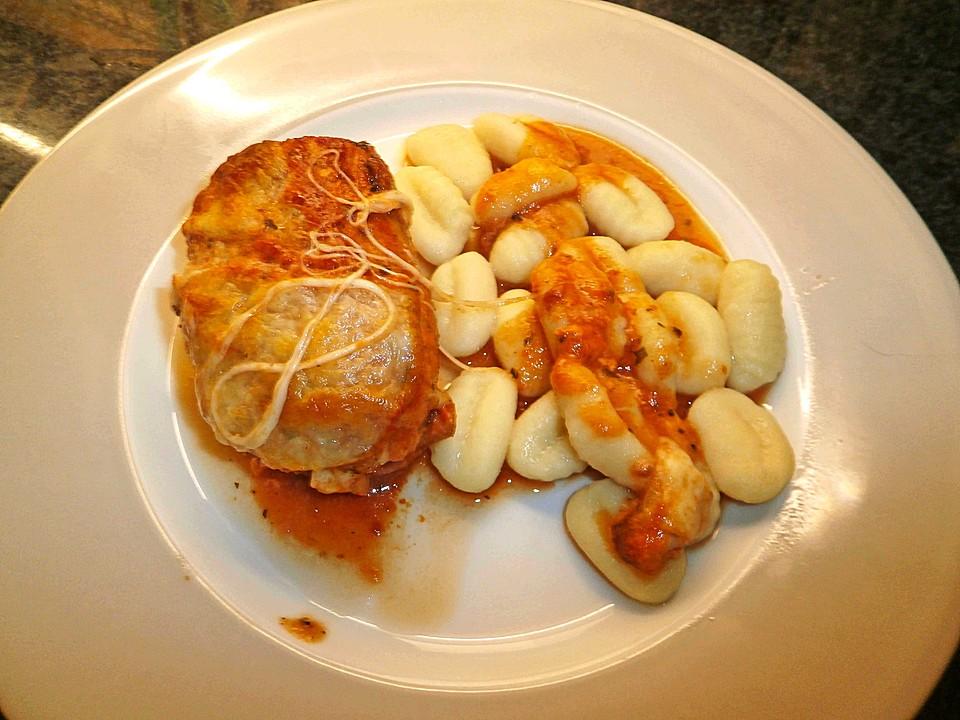 Gerollte ofen schnitzel toscana 3