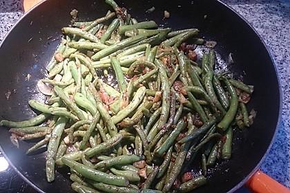 Grüne Bohnen mit Tomaten und Balsamico 9
