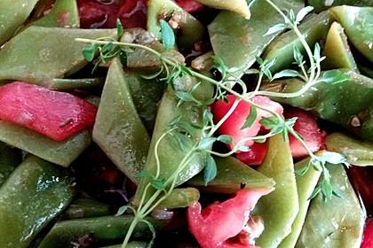 Grüne Bohnen mit Tomaten und Balsamico 13