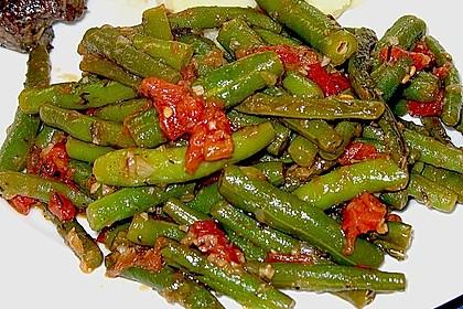 Grüne Bohnen mit Tomaten und Balsamico 5
