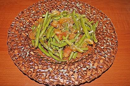 Grüne Bohnen mit Tomaten und Balsamico 10