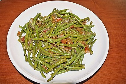 Grüne Bohnen mit Tomaten und Balsamico 11