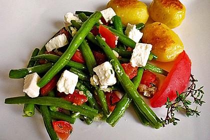 Grüne Bohnen mit Tomaten und Balsamico 4