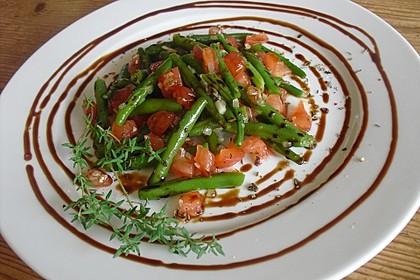 Grüne Bohnen mit Tomaten und Balsamico 1