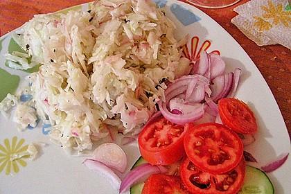 Krautsalat - wie im griechischen Restaurant 99