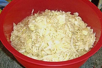 Krautsalat - wie im griechischen Restaurant 123
