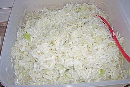 Krautsalat - wie im griechischen Restaurant 119
