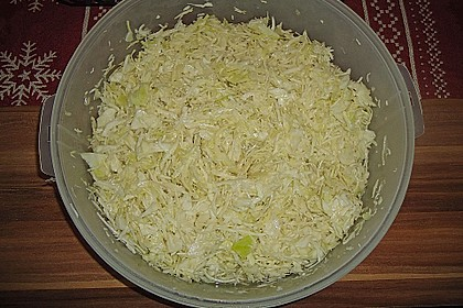 Krautsalat - wie im griechischen Restaurant 79
