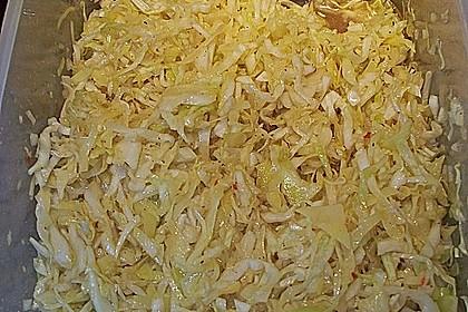 Krautsalat - wie im griechischen Restaurant 101